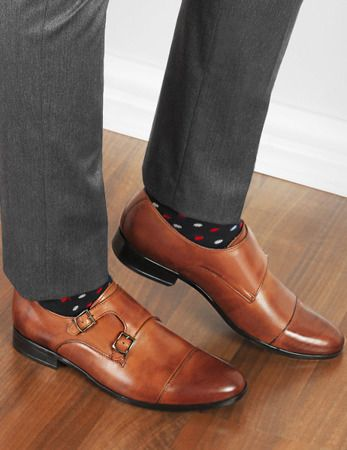 Eleganckie Wizytowe Monki Z Klamrami Andreas Brazowe Dress Shoes Men Shoes Shoes Mens