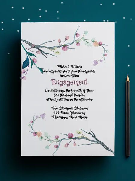 Engagement Party Invitation Card Template Engagement Party Invitation Cards Engagement Party Invitations Invitation Cards
