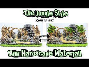 Code 72 Hardscape Air Terjun Untuk Aquascape Tema The Jungle Youtube Aquascape Hardscape Jungle