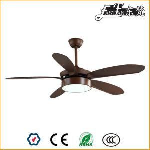 Ef52158w Ventilador De Techo De Madera De 52 Pulgadas Con Cinco Aspas Ceiling Fan En 2020 Ventiladores De Techo Ventilador De Techo Con Luz Ventilador Con Luces