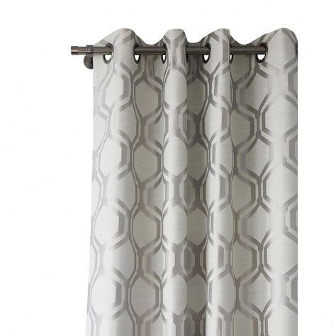 Lite Out Vino Designer Jacquard Blackout Curtain Panels Pair