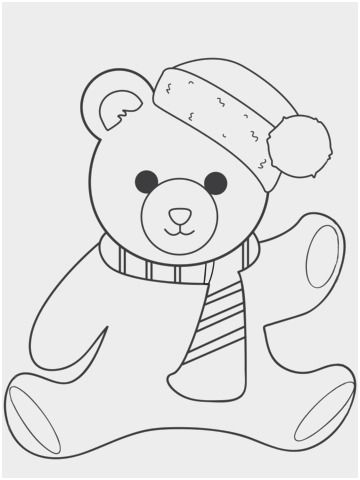 Image Result For Christmas Teddy Bear Stencil Teddy Bear