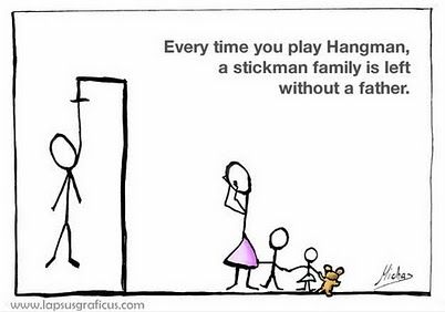 funny hangman quotes