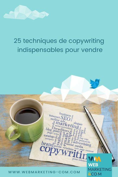 25 techniques de copywriting indispensables pour vendre