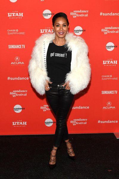 Jada Pinkett Smith attends the 'Skate Kitchen' premiere during 2018 Sundance Film Festival.