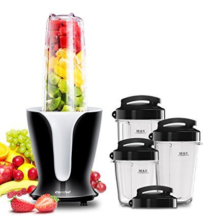 Comfee 900w High Speed Professional Blender With 4 Sizes Bpa Free