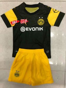new concept 52fb4 dc17a 2018-19 Cheap Youth Kit Borussia Dortmund Away Replica ...