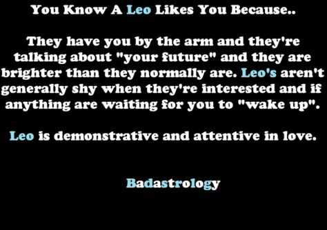 If Leo A Know To You How Likes