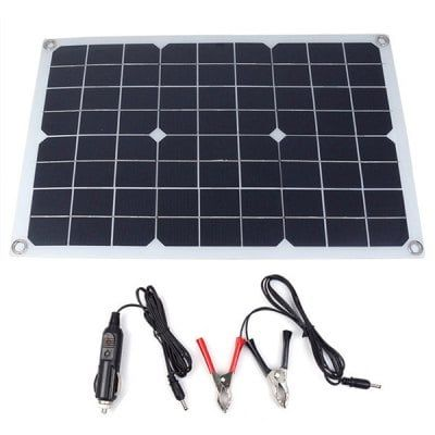 Outdoor Single Crystal High Efficiency Solar Panel 20w Sale Price Reviews Gearbest Monocrystalline Solar Panels Solar Power Panels Solar Charger
