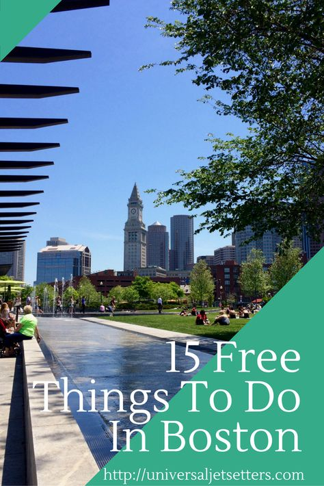 15 Free Things To Do In Boston