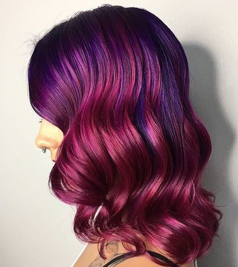 63 Purple Hair Color Ideas To Swoon Over Violet Purple Hair Dye Tips:  Hair Styles Stylists Color