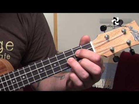 Ukulele Lesson 2 Uke Open Chords C Cmin C7 F Fmin F7 G Gmin G7