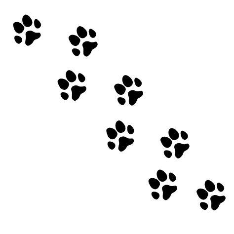 猫の足跡のイラスト Onwaイラスト ベクターイラスト 犬の足 犬 足跡 イラスト