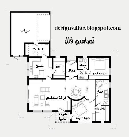 مخطط بيت دور واحد سعودي Model House Plan 20x40 House Plans Dream House Plans