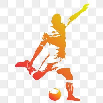 صورة ظلية لاعب كرة قدم خيال لاعب كرة قدم لاعب Png والمتجهات للتحميل مجانا Soccer Players Football Silhouette Football Illustration