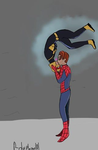 Spideynova Spiderman Ultimate Spiderman Peter Parker Nova Sam Alexander Lgbtqpia Disney Xd Marvel Fan Art Ultimate Spiderman Spiderman Marvel Spiderman
