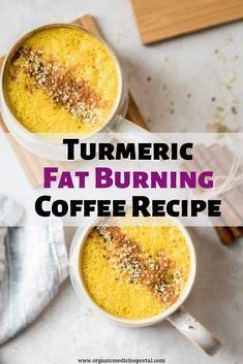 Turmeric Fat Burning Coffee Recipe #burnfat