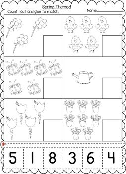 Pin On March And April Worksheets