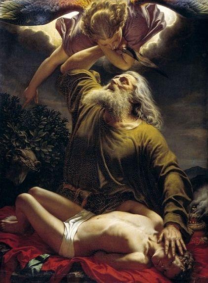 Gerhardt Wilhelm Von Reutern Abraham Sacrificing Isaac 1849