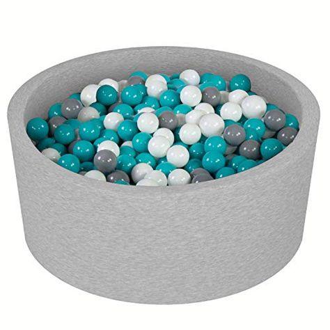 Vivisence Piscine A Balles Pour Enfants Rond 90x40 300 Balles