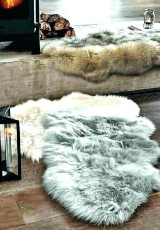 Sheepskin Rug Living Room