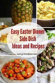 Easter is just around the corner and to make it easy for you to plan your menu, I have compiled a list of popular side dish ideas and recipes. Discover the perfect accompaniment to your entree with this list of the best and mostly make-ahead side dishes.#eastersidedishrecipes, #easterrecipes