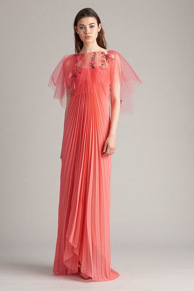 Monique Lhuillier, Resort 2018 - The Most Pinterest Worthy Dresses From Resort 2018 - Photos