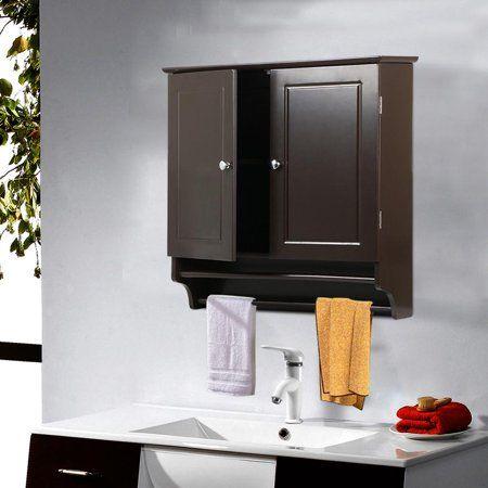 41++ Bathroom cabinet wall mounted expresso diy