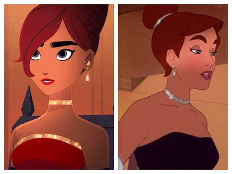 Carmen Sandiego and Anastasia