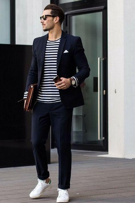 mens Street style looks Sandro...