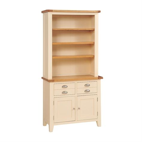 Cheltenham Cream Dresser With Shelves 732 177 With Free Delivery