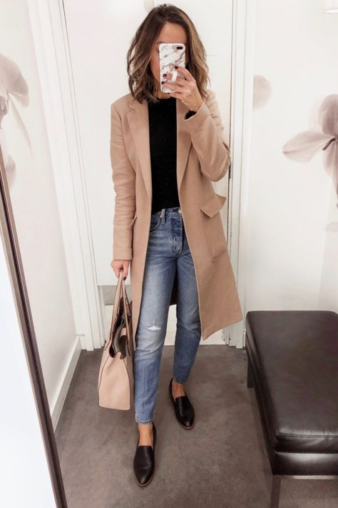90 Sophisticated Work Attire and Office Outfits for Women to Look Stylish and Chic - Lifestyle State Casual Work Outfits, Winter Outfits For Work, Mode Outfits, Work Attire, Work Casual, Winter Clothes, Women Fall Outfits, Casual Fall, Autumn Outfits