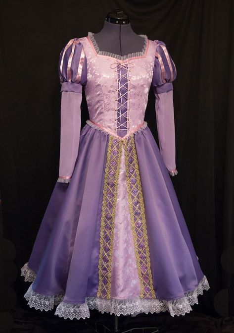 NEW Design! RAPUNZEL Tangled Costume ADULT Custom Size