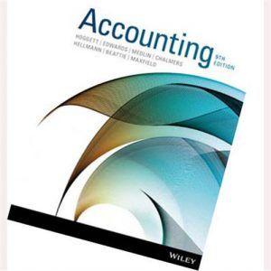 Hoggett Accounting 9th Edition Solutions Manual Edwards Medlin Chalmers Hellmann Beattie Maxfield Digitalcontentstores Accounting Solutions Hellmann S