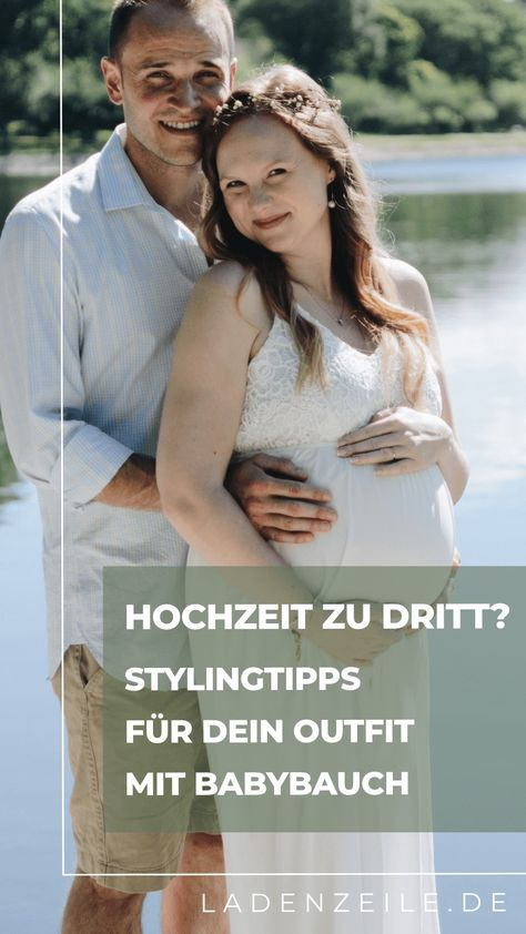Schwanger heiraten – Entdecke unsere Stylingtipps für dein Outfit mit Babybauch