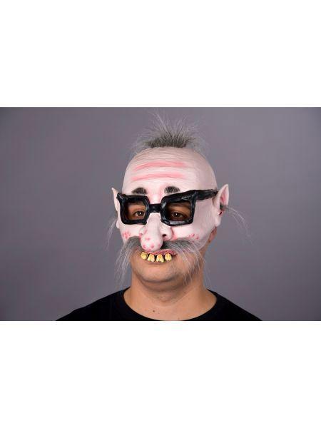 """Maske für Erwachsene /""""Mumie/"""" Halbmaske Latex Universalgröße Party Kostüm Grusel"""