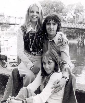 Sally Thomsett, Paula Wilcox and Richard O'Sullivan - Man About the House 1973