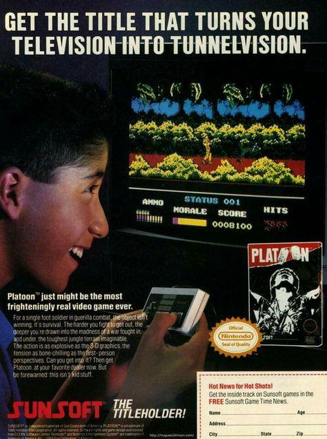 Platoon for NES