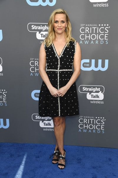 Reese Witherspoon - The Most Daring Dresses at the 2018 Critics' Choice Awards - Photos