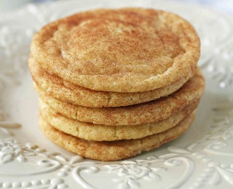 The popular cinnamon-sugar soft and chewy sugar cookie recipe. A recipe that has been in the family for over 30 years!