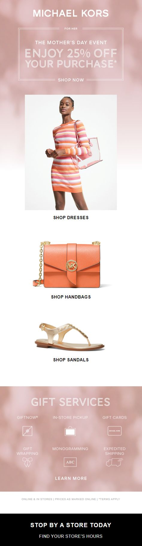 Michael Kors UK: Designer handbags, clothing, menswear, watches, shoes, and more