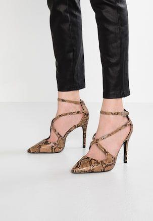 Dorothy Perkins Wide Fit Wide Fit Enigma Zapatos Altos Multicolor Zalando Es Zapatos Altos Zapatos Calzas