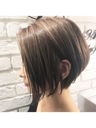 前下がりショートスタイル Grandir Hair Designをご紹介 2018年夏の