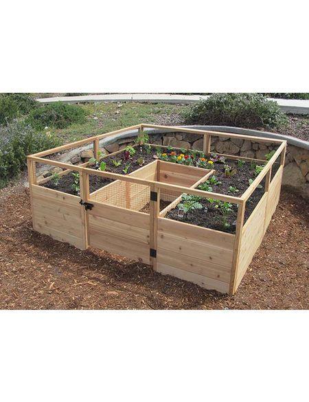 Outdoor Living Raised Garden Bed 8 X 8 Gardener S Supply