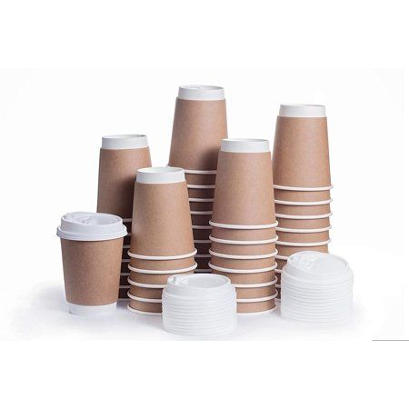 Disposable Coffee Cups With Snap Lids