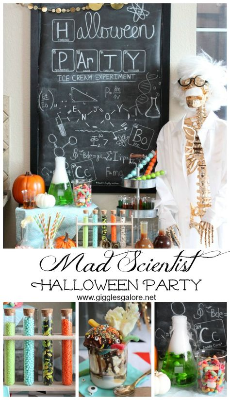 Mad Scientist Halloween Party by MichaelsMakers Giggles Galore