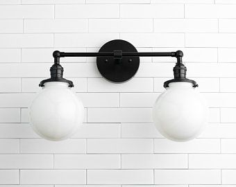 Wall Lighting Vanity Light Bathroom Light Wall Lamp Etsy In 2020 Globe Light Fixture Wall Mounted Light Wall Lights