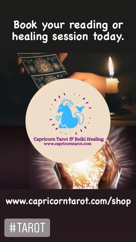Tarot readings via video or telephone call are available. Head to www.capricorntarot.com/shop to book your reading now. #tarot #tarotreader #tarotreading #tarotcards #tarotguidance #tarotguide