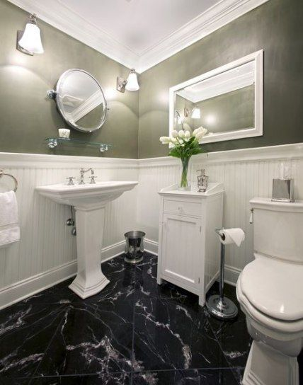 Trendy Bathroom Floor Dark Marble Tiles 28 Ideas Bathroom Black Marble Bathroom White Marble Bathrooms Marble Bathroom Floor