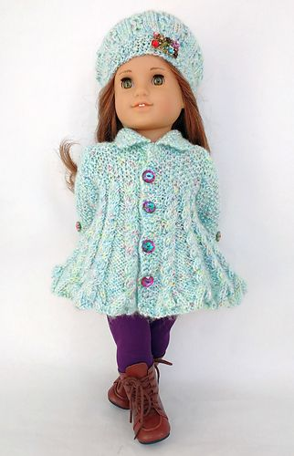 Baby Coat Doll Clothes Doll Clothes For 18 Inch Doll BE